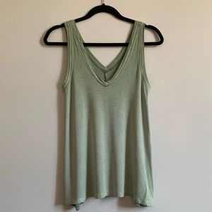 American Eagle Green Tank Top